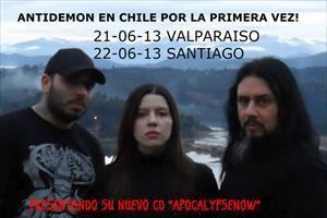 Imagem Notícia Antidemon: em entrevista à rádio argentina, banda comenta sobre tiros disparados contra ônibus.