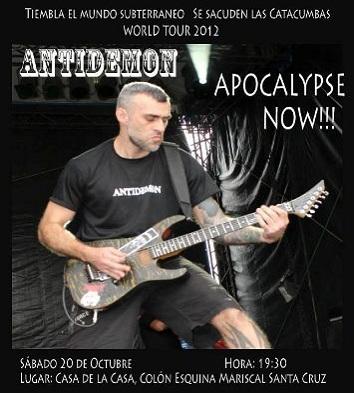 Antidemon - Bolívia 2012