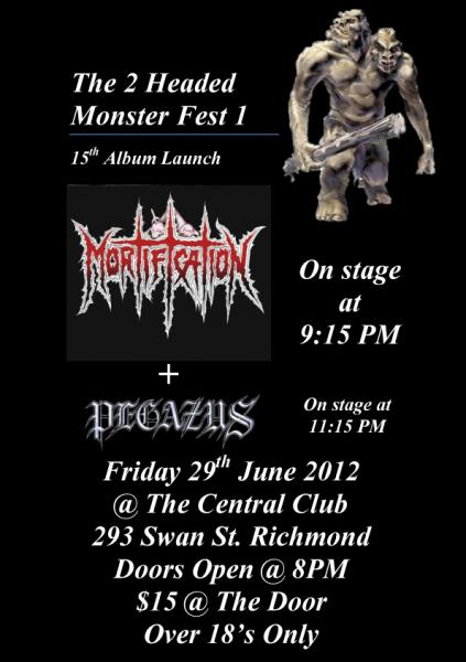 The 2 Headed Monster Fest 1